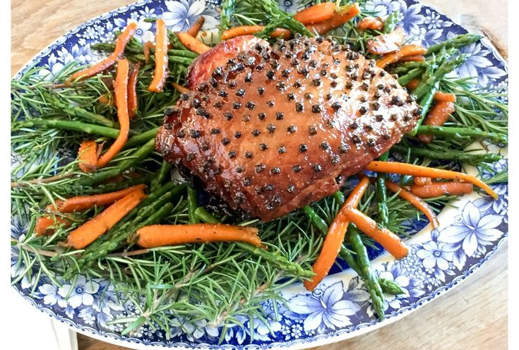Gammon with a Maple Syrup, Honey & Mustard Glaze