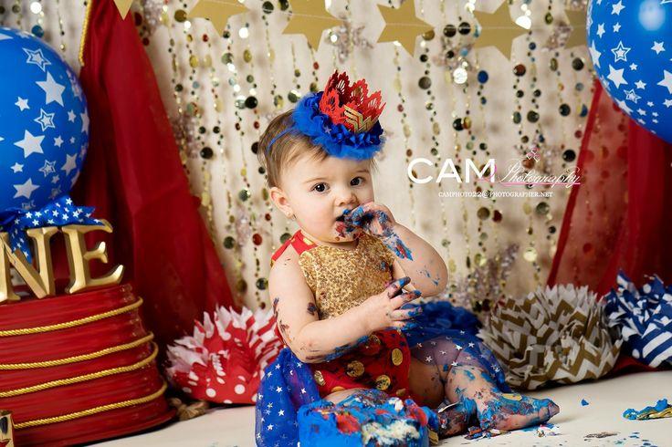 Wonder Oneder Woman First Birthday Photo Shoot First