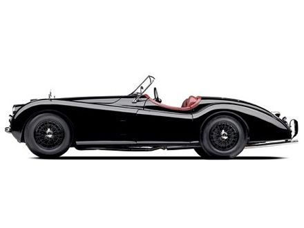 1949 Jaguar XK140 -- I will wait for you my love. I will wait for you to depreciate and drop your price.