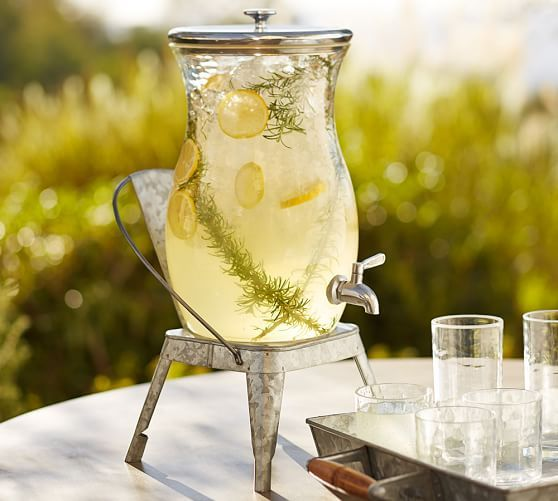 PB Classic Outdoor Drink Dispenser | Pottery Barn