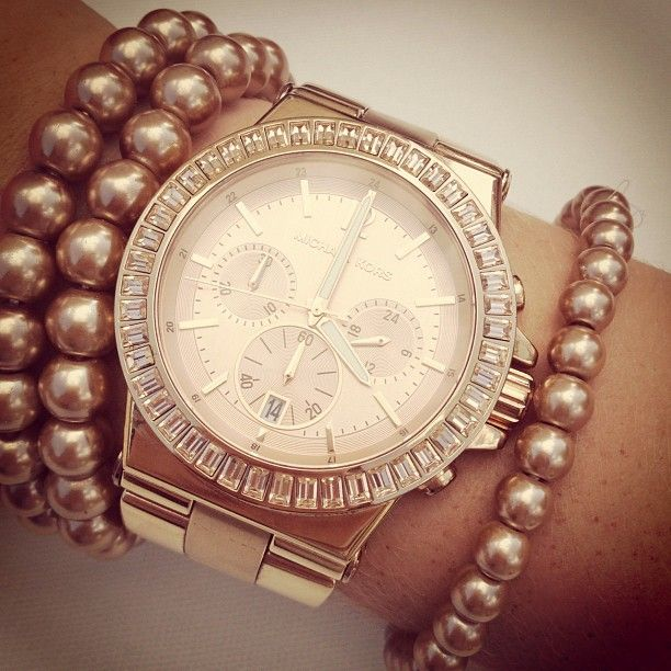 Michael Kors Rose gold wrist candy
