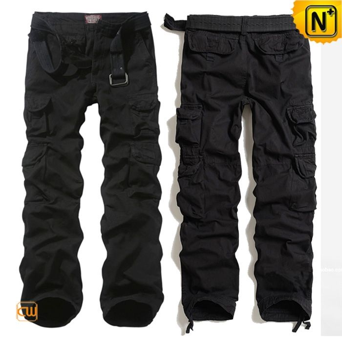 CWMALLS Mens Black Workout Pants CW100011
