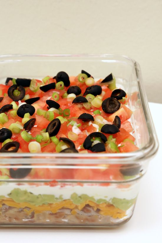 Seven Layer Bean Dip Recipe
