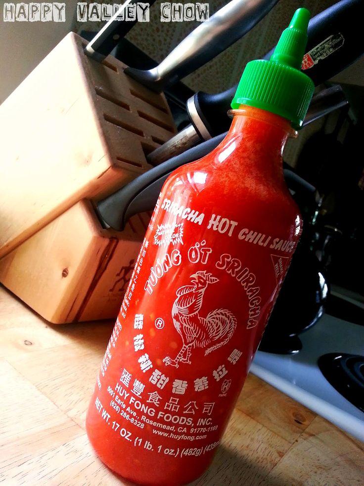 Homemade Sriracha — Happy Valley Chow | Hot Sauce | Pinterest