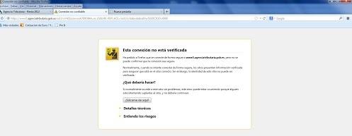 La Hacienda española y los Certificados de Seguridad #FAIL