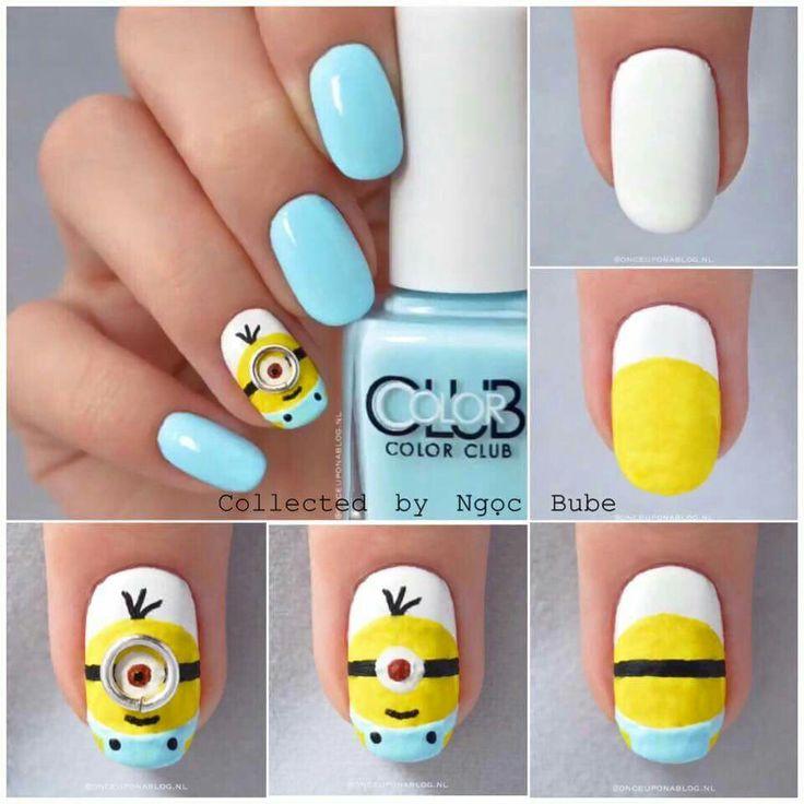 652 mejores imágenes de Nails en Pinterest | Uñas bonitas, Diseño de ...