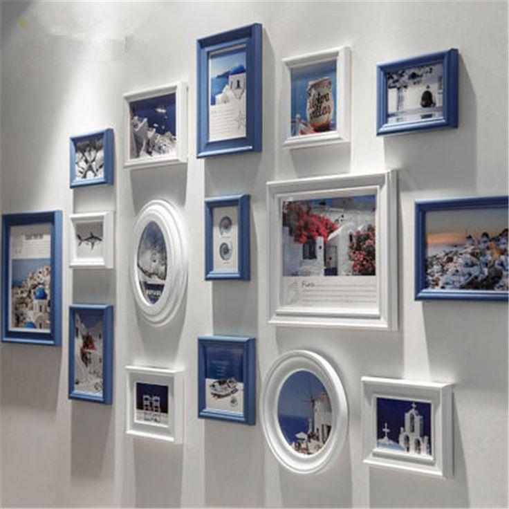 Фоторамка любовь фоторамка стены, состав, студия свадебный кадр 13 шт./компл. фото стена утолщение cadre moderne купить на AliExpress
