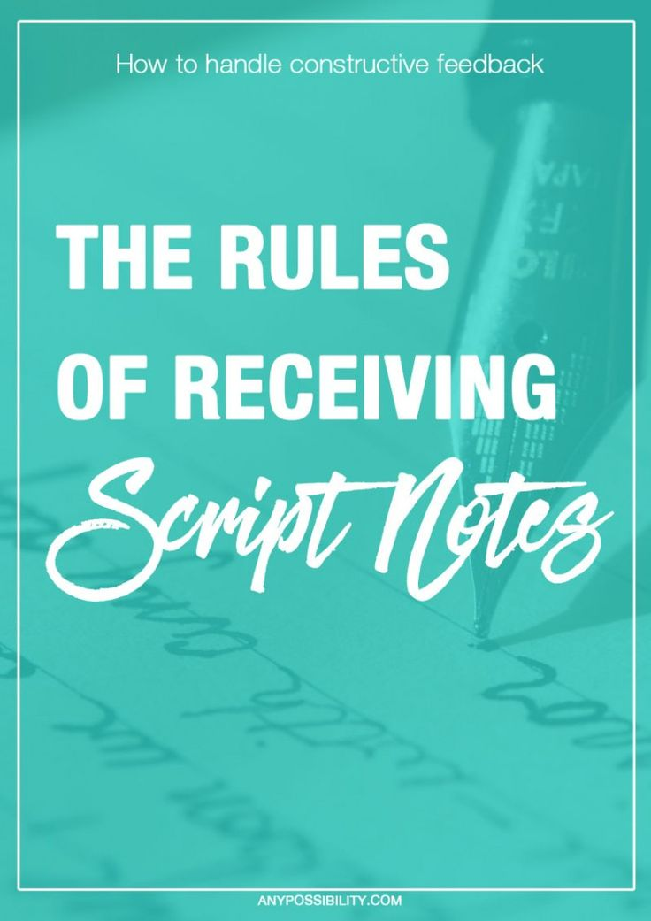 notes script writing With our screenplay development notes, you get invaluable feedback on your feature film, movie-of-the-week or television script, in a format that mirrors the same process occurring in the studio ranks.