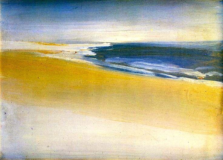 Landscape by the Sea, 1954 Nicolas de Staël