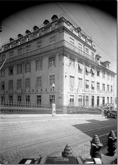 Hotel Bragança (R. do Alecrim) 1958