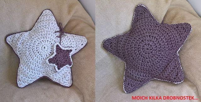 Poduszka gwiazda DIY / Star pillow DIY