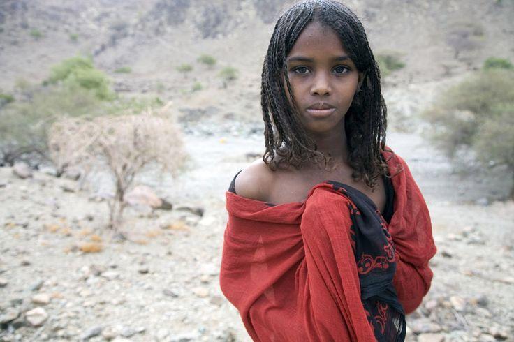 Afar girl Girl