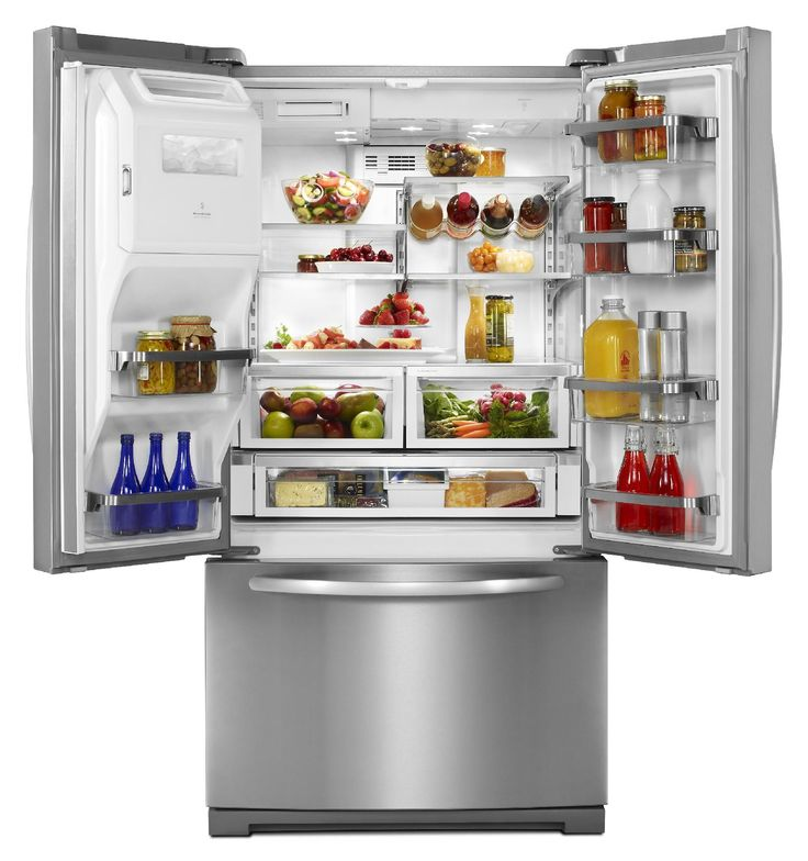 KitchenAid - KFIS29PBMS - 26.8 Cu. Ft. French Door Architect Series II Monochromatic Stainless Refrigerator | Sears Outlet