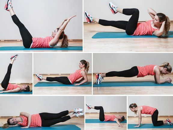 Die besten Übungen für einen flachen Bauch | EAT SMARTER