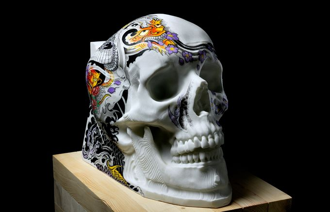 Wonderful Marble works of art and the Robot City