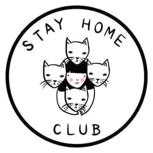Stay Home Club | À la mode Montréal #montreal #fashion #illustrator #handmade #pillows
