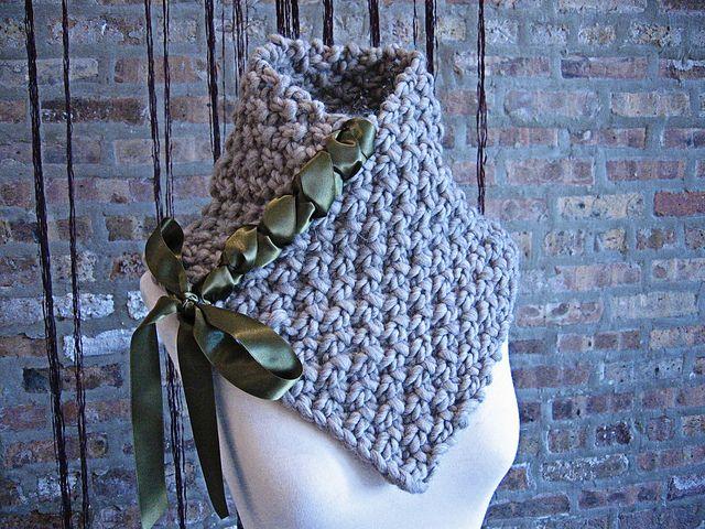 Free knitting pattern for Neck Truffle and more neckwarmer knitting patterns