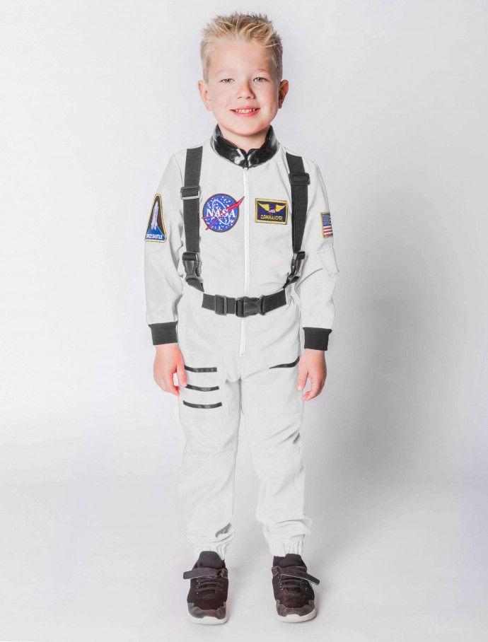Astronaut Kinder Weiss Deiters Nasa Kostum Karneval