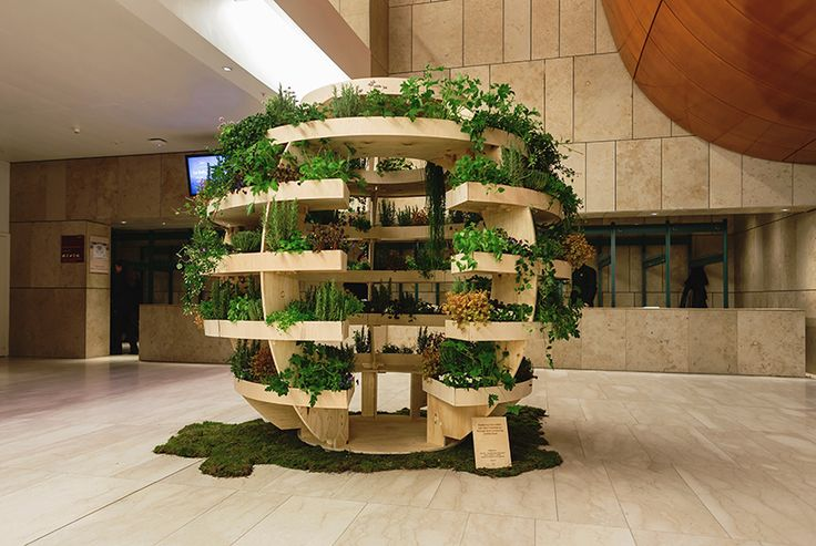 Build a growroom spherical structure to grow your own food | Ikea | apartmenttherapy
