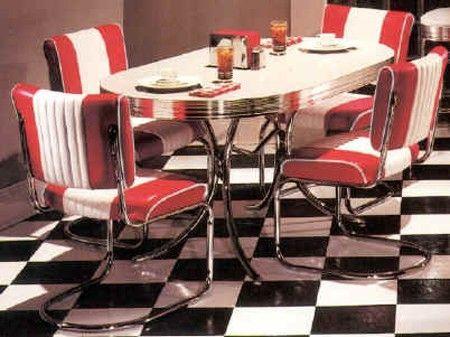 Retro jídelní stůl