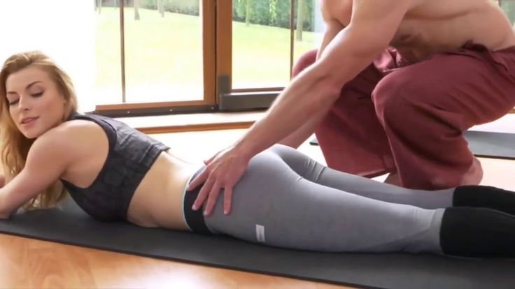 Sex With Personal Trainer Fitness Yoga Teacher With Yogini