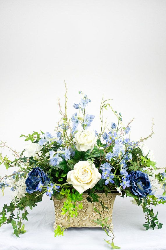 Cool Victorian Spring Silk Arrangement by EssentialSilkDecor, $129.00