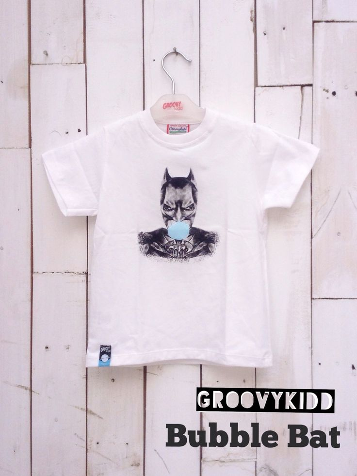 Bubble Bat  PRODUCT TYPE : tshirt COLOR :BLACK MATERIAL : COTTON PRINT TYPE : PLASTISOL PRICE : 90K  *available size: 1 years: 2 years: 3 years: 4 years: 5 years: 7 years: 10 years:  For further information , you can contact us through whatsapp:081320942222 line ID :groovykidd bbm :21e1af8b Phone :022-87788662 Please put your data as below -NAME -ADDRESS -PHONE NUMBER  -E-MAIL -ORDER   WE WILL NOT REPLY COMMENT ON PICTURE  Seluruh pertanyaan mengenai detail produk, harap hubungi admin kami.