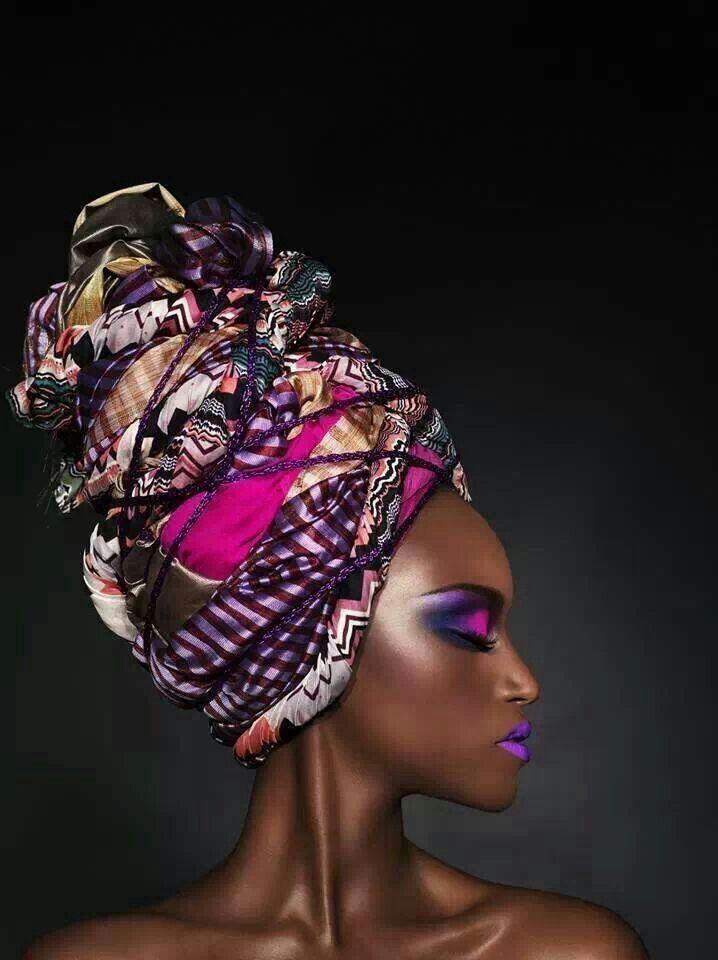 African fashion head wrap