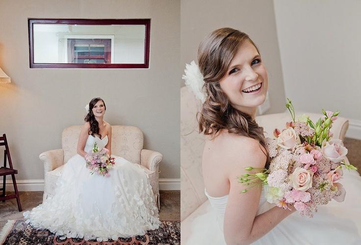 Wedding gown by Carita Adams   http://www.facebook.com/caritabridalPHotography by Saysha Baker  http://www.facebook.com/SayshaBakerPhotography — with Carita Adams and Annie Tomlinson.