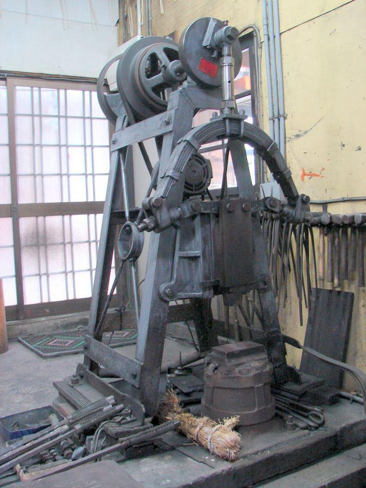 Blacksmith Power Hammer | Gulf Coast Blacksmith Association