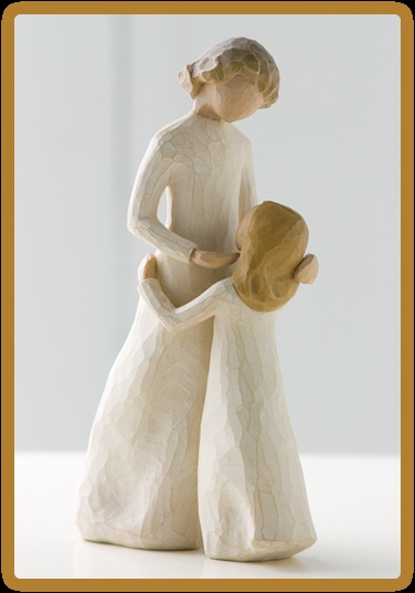 """""""Mother and Daughter"""" Willow Tree Figurine"""