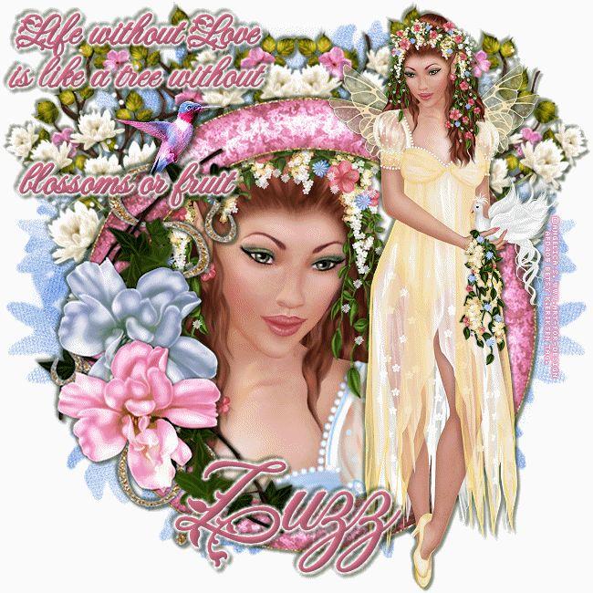 Betsy's Paradise Dreamer: blossom-Juliet-Angelica S.-Zuzzanna-tut+snagtags