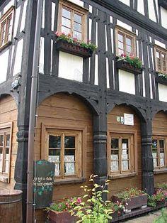 Pickmoss - medieval timber framed house
