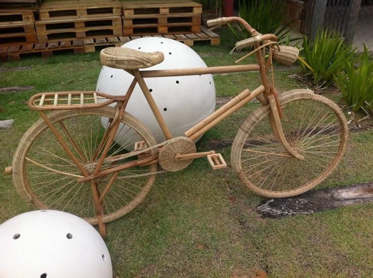 wiklinowy rower