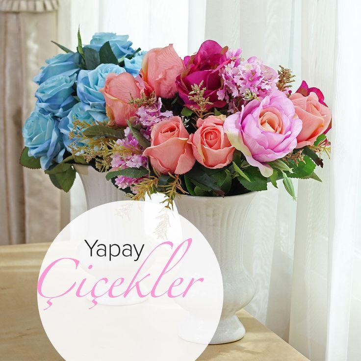 Yapay çiçekler ile eviniz capcanlı olsun, ne dersiniz? #dekorazoncom >> http://www.dekorazon.com/yapay-cicekler-ile-eviniz-capcanli#utm_source=pinterest&utm_medium=post&utm_content=yapay-cicekler-ile-eviniz-capcanli