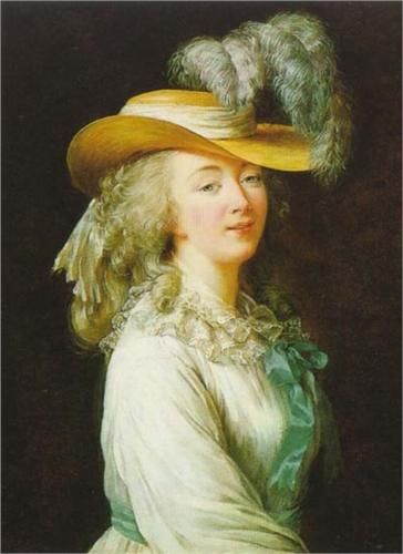 Portrait of Madame du Barry, 1781 - Louise Elisabeth Vigee Le Brun