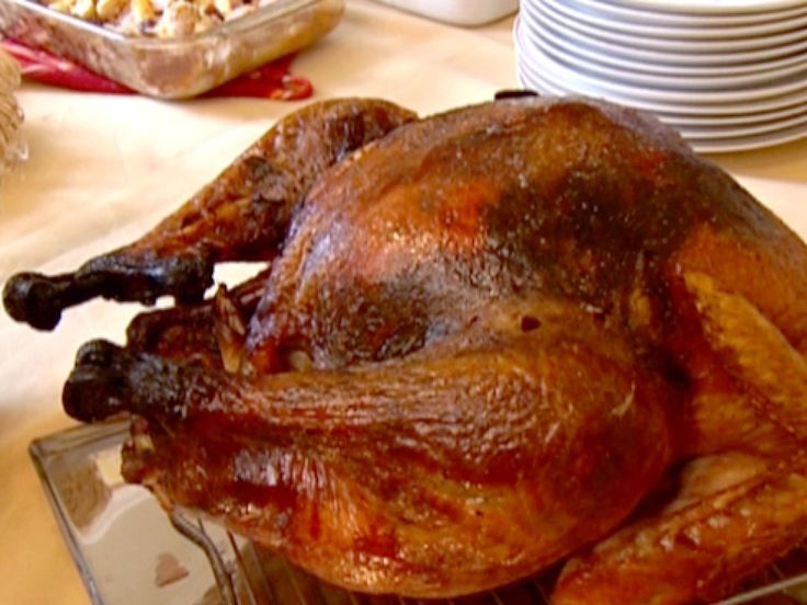 Roasted Tom Turkey recipe from Robert Irvine via Food Network
