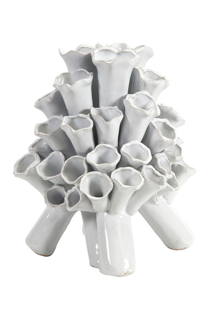 Ocean Coral Floral Vase