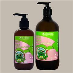 Kids with sensitive skin?  Our Watermelon Whirl #BodyWash is completely #SoapFree and #SulfateFree so it is extra gentle.  pH balanced, it leaves your skin feeling pampered and moisturised. Smells great, cleans well and lasts a long time (as long as parents are dispensing it).  And if you add some to the bath while the water is running, it makes some pretty darn good #bubbles too! Contact me at goodelife@bigpond.com for reduced shipping rates.