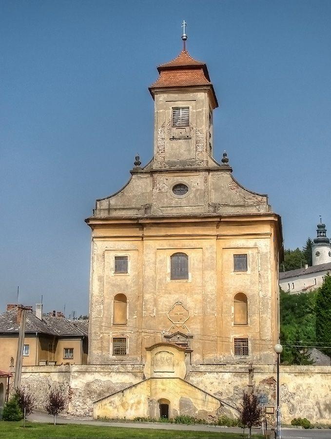 kostel sv. Jiljí ( Usov, 1734)