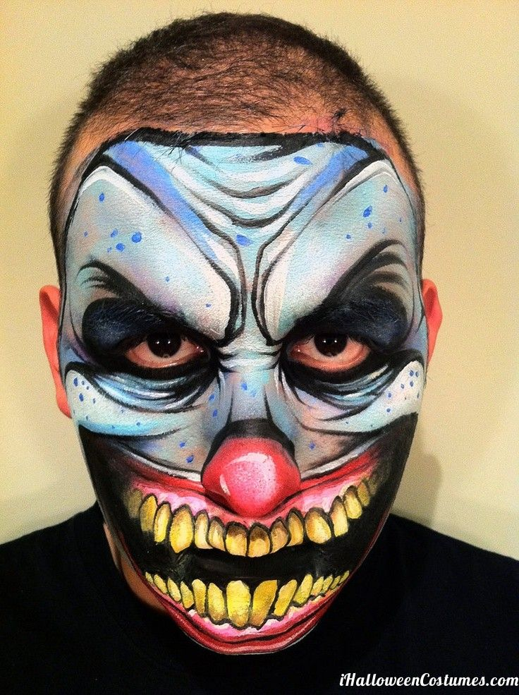 1000 images about halloween clown make up on pinterest. Black Bedroom Furniture Sets. Home Design Ideas