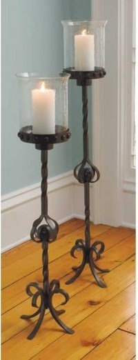 floor standing candle holders