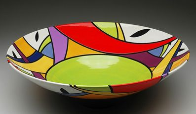 Pam Summers Polychrome Bowl