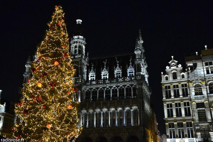 weekend à Bruxelles en décembre avec le marché de noël et les illuminations par radis rose http://radisrose.fr/noel-bruxelles/ #noel #bruxelles #chocolat