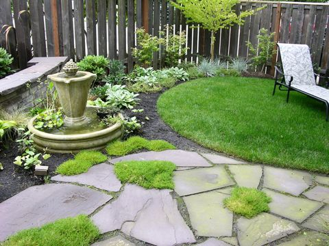 1000 Images About Small Yard Landscaping On Pinterest