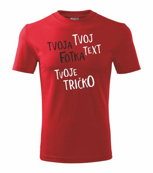 Tričko s vlastným textom Classic 101 –