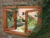 2ft 2in x 3ft 2in Garden Mirror Illusion – Open Double Window