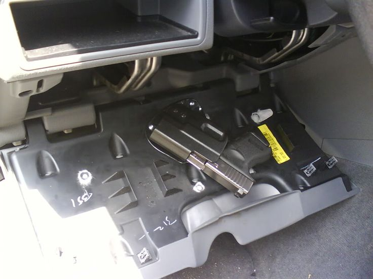 Pistol Storage / Aftermarket Security Locker - Page 4 - Jeep Commander Forums: Jeep Commander Forum