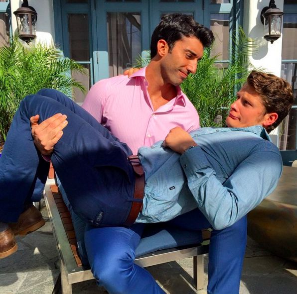 "Heartsplode! | Rafael And Michael From ""Jane The Virgin"" Have The Cutest Bromance In Real Life"