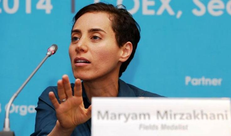 Addio all'Iraniana Maryam Mirzakhani, prima donna a ricevere la prestigiosa Medaglia Fields per la matematica, è morta a 40 anni negli Stati Uniti per un cancro. Era nata nel' 1977  Il Premio Nobel per la matematica, nel 2014 era stato assegnato alla professoressa per il suo lavoro nell'ambito della geometria complessa e dei sistemi dinamici. Nel 2004 aveva ottenuto un Phd ad Harvard e poi aveva iniziato ad insegnare a Stanford.
